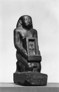 Egyptian_-_The_Priest_Pe-Kher-Khons_Holding_the_Shrine_of_Osiris_-_Walters_22175